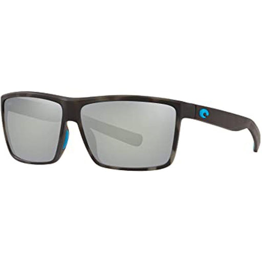 Costa Del Mar Mens Riconcito Tiger Shark Ocearch Frame Gray Silver Mirror Polarized Lens Sunglasses - RIC140OCSGGLP - WatchCo.com