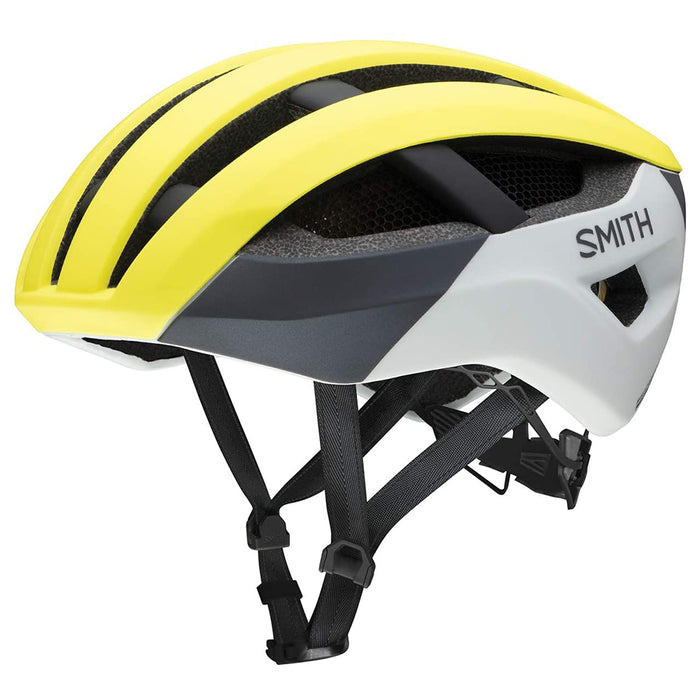 Smith Unisex-adult Matte Neon Yellow VIZ MIPS Optics Network Helmet - E0073204G5962