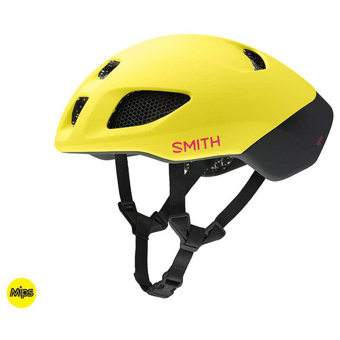 Smith Unisex Matte Citron/Peony Ignite MIPS Helmet -  E007363755559