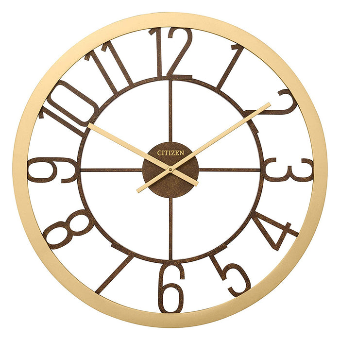 Citizen Rose Gold-Tone Gallery Wall Clock -  CC2041