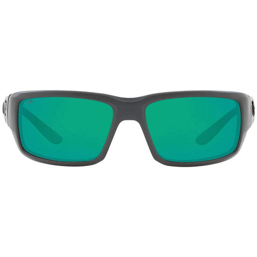 Costa Del Mar Mens Fantail Matte Grey Frame Green Mirror Polarized Lens Sunglasses - TF98OGMGLP - WatchCo.com