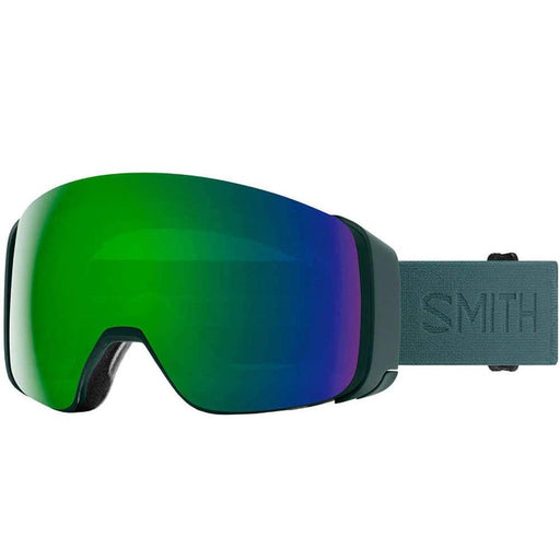 Smith Mens 4D MAG Spruce Flood Frame Sun Green Mirror Chromapop Lens Snow Goggle - M0073232D99MK - WatchCo.com