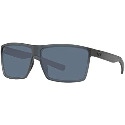 Costa Del Mar Mens Rincon Matte Smoke Crystal Frame Gray Polarized Lens Sunglasses - RIN156OGP - WatchCo.com