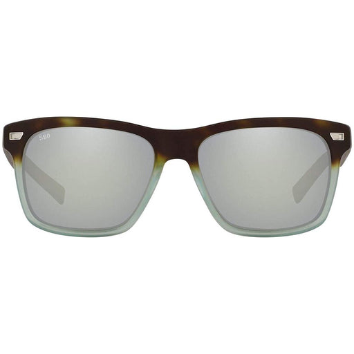 Costa Del Mar Mens Aransas Matte Tide Pool Frame Gray Silver Mirror Polarized Lens Sunglasses - ARA207OSGGLP - WatchCo.com