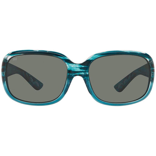 Costa Del Mar Womens Gannet Shiny Marine Fade Frame Polarized Gray 580G Lens Sunglasses - GNT283OGGLP - WatchCo.com