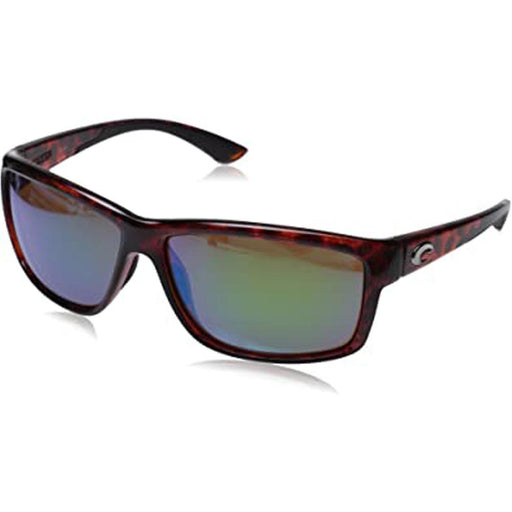 Costa Del Mar Mens Mag Bay Tortoise Frame Copper Green Mirror Polarized Lens Sunglasses - AA10OGMP - WatchCo.com