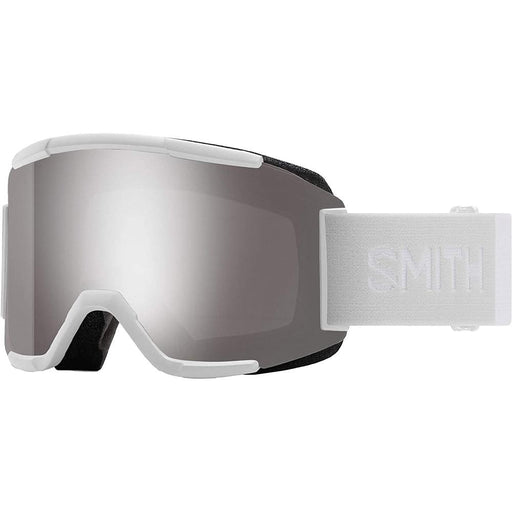 Smith Mens Squad White Vapor Frame Sun Platinum Mirror Chromapop Lens Snow Goggle - M0066833F995T - WatchCo.com