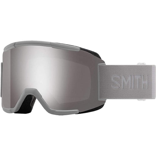Smith Mens Squad Cloud Gray Frame Sun Platinum Mirror Chromapop Lens Snow Goggle - M006682R6995T - WatchCo.com