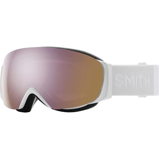 Smith Womens I/O MAG S White Vapor Frame Everyday Rose Gold Mirror Chromapop Lens Snow Goggle - M0071433F99M5 - WatchCo.com