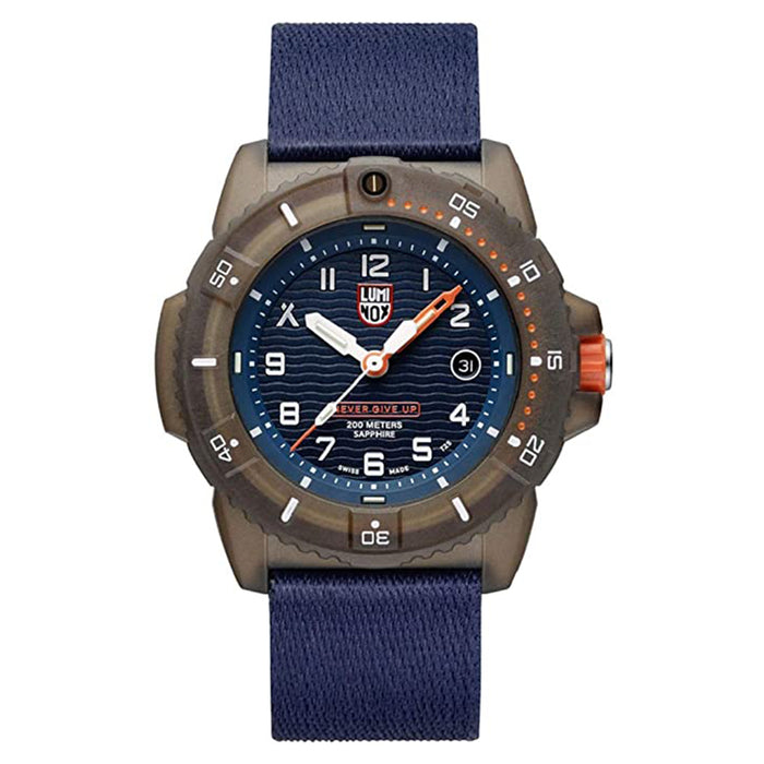 Luminox Mens Bear Grylls Survival Tide Sapphire Glass Edition Watch - XS.3703
