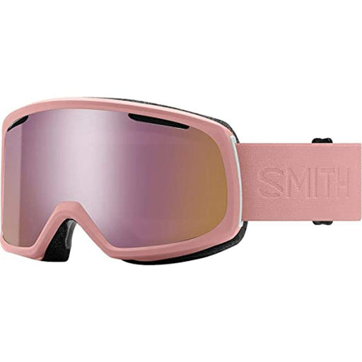 Smith Womens Riot Rock Salt Flood Frame Rose Gold Mirror Chromapop Lens Snow Goggle - M006722XU99M5 - WatchCo.com