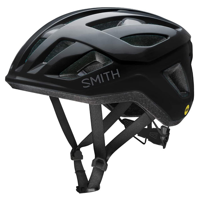 Smith Mens Black Signal MIPS Road Cycling Helmet - E007409PC5559
