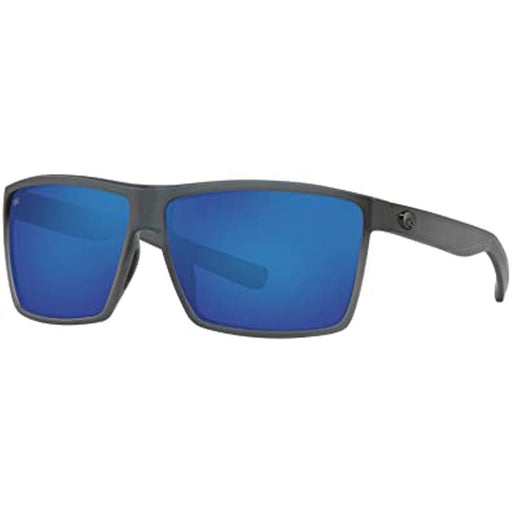 Costa Del Mar Mens Rincon Matte Smoke Crystal Frame Blue Mirror Polarized Lens Sunglasses - RIN156OBMGLP - WatchCo.com