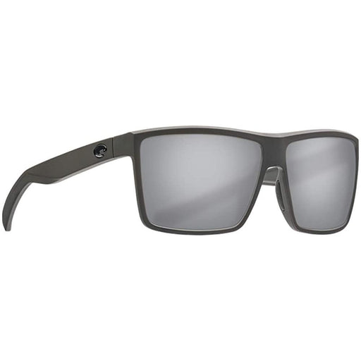 Costa Del Mar Mens Rinconcito Matte Gray Frame Silver Mirror Polarized Sunglasses - RIC98OSGP - WatchCo.com