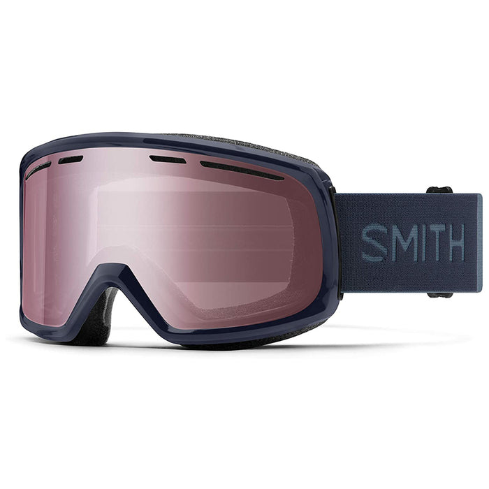 Smith Unisex Metal Frame Range Snow Glass Lens Navy Blue Goggles - M004212R7994U