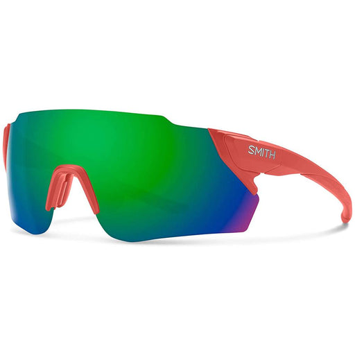 Smith Mens Attack MAG MAX Matte Red Rock Frame Green Mirror Lens Sunglasses - 2004230Z399X8 - WatchCo.com