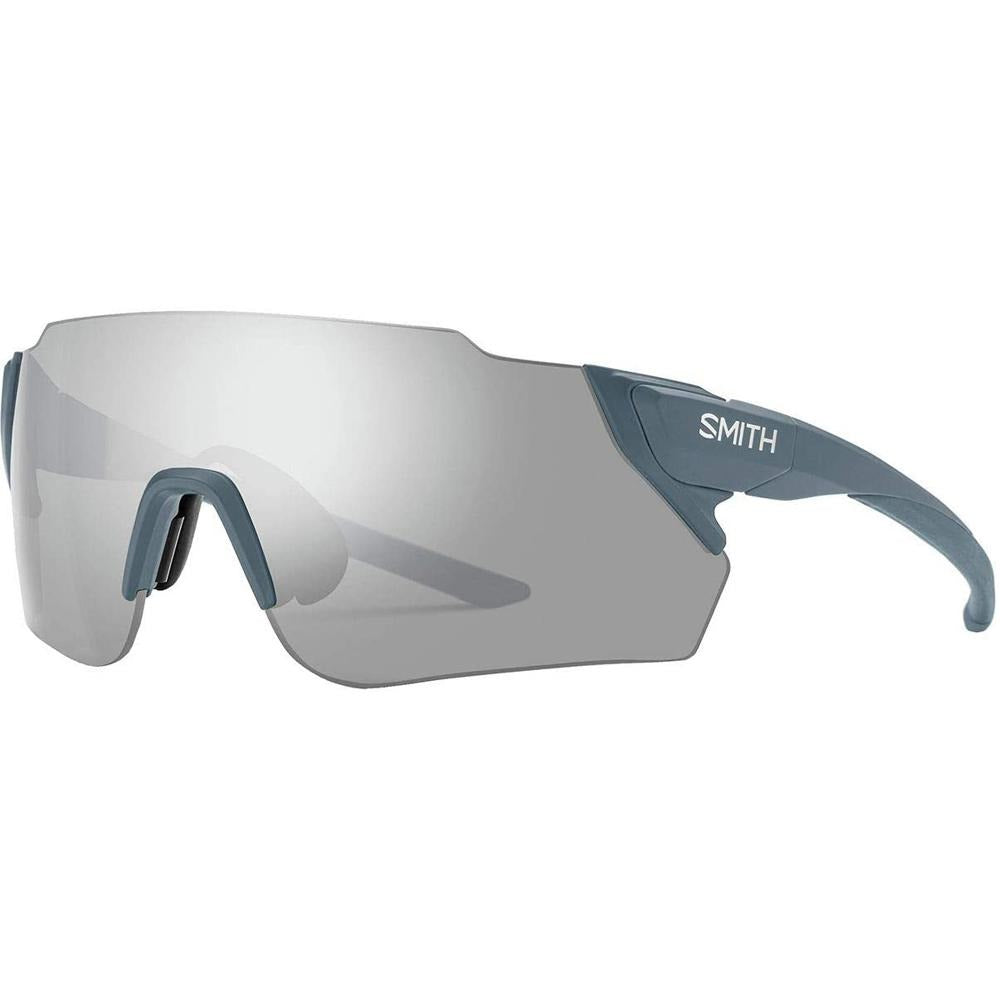 Smith Mens Attack MAG MAX Matte Iron Frame Platinum Mirror Lens Sunglasses - 200423FLL99XB