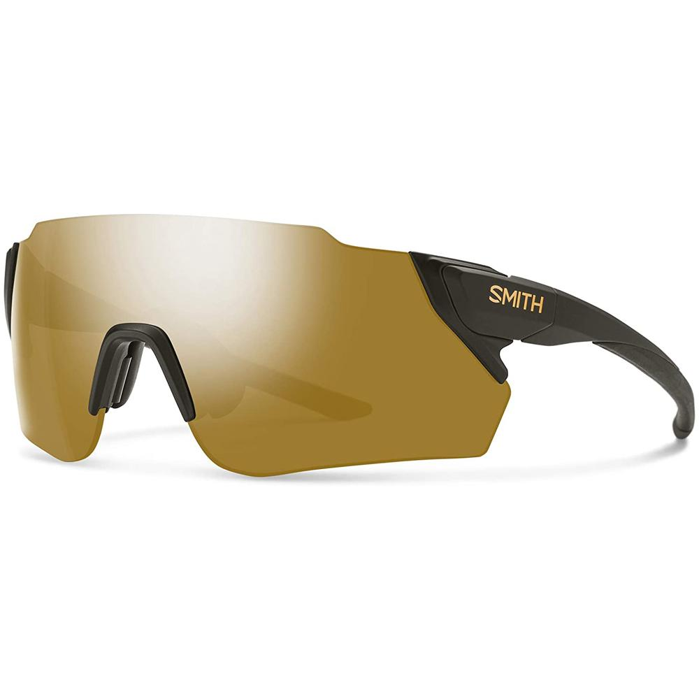 Smith Mens Attack MAG MAX Matte Gravy Frame Bronze Mirror ChromaPop Lens Sunglasses - 200423FRE990K