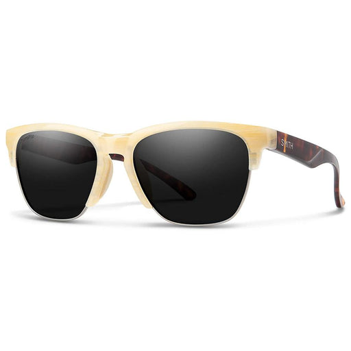 Smith Womens Haywire Ivory Dark Tortoise Frame Black Polarized Lens Sunglasses - 201518BOA551C - WatchCo.com