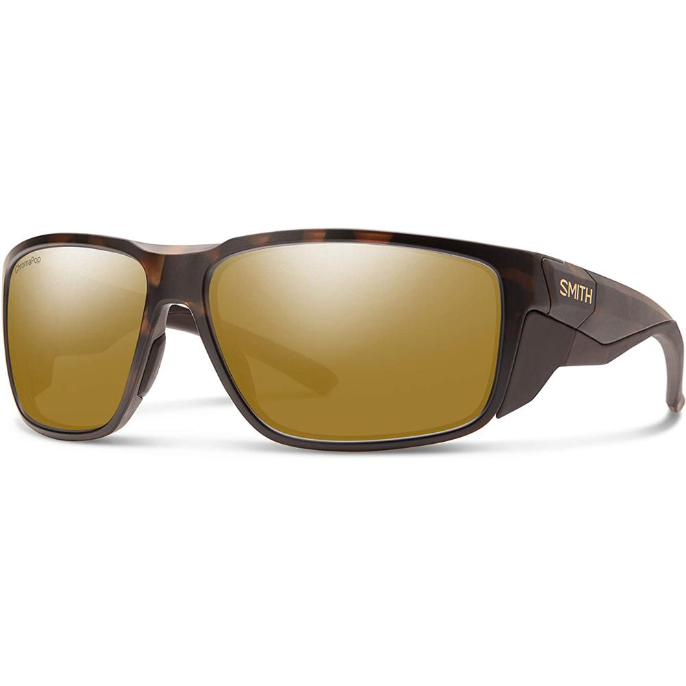 Smith Mens Freespool MAG Matte Tortoise Frame Bronze Mirror Polarized Lens Sunglasses - 201520N9P64QE