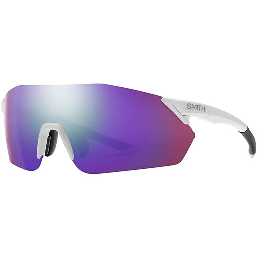 Smith Mens Reverb Matte White Frame Violet Mirror Lens Sunglasses - 2015216HT99DI - WatchCo.com