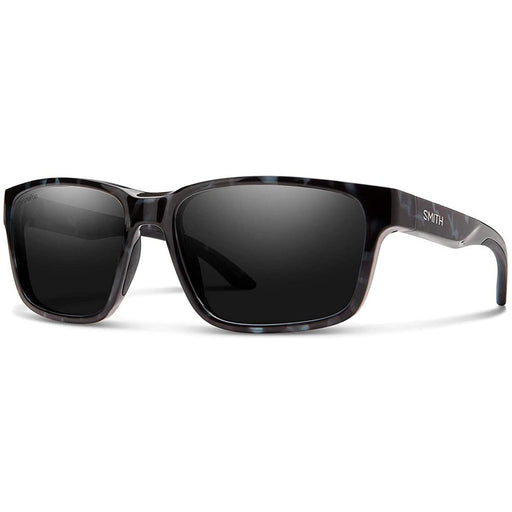 Smith Mens Basecamp Black Ice Tortoise Frame Black Polarized Lens Sunglasses - 201929JBW596N - WatchCo.com
