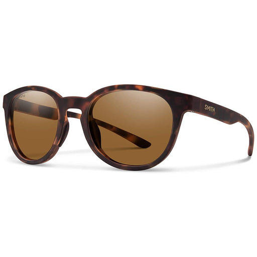 Smith Womens Eastbank Matte Tortoise Frame Brown Polarized Lens Sunglasses - 201932N9P52L5 - WatchCo.com