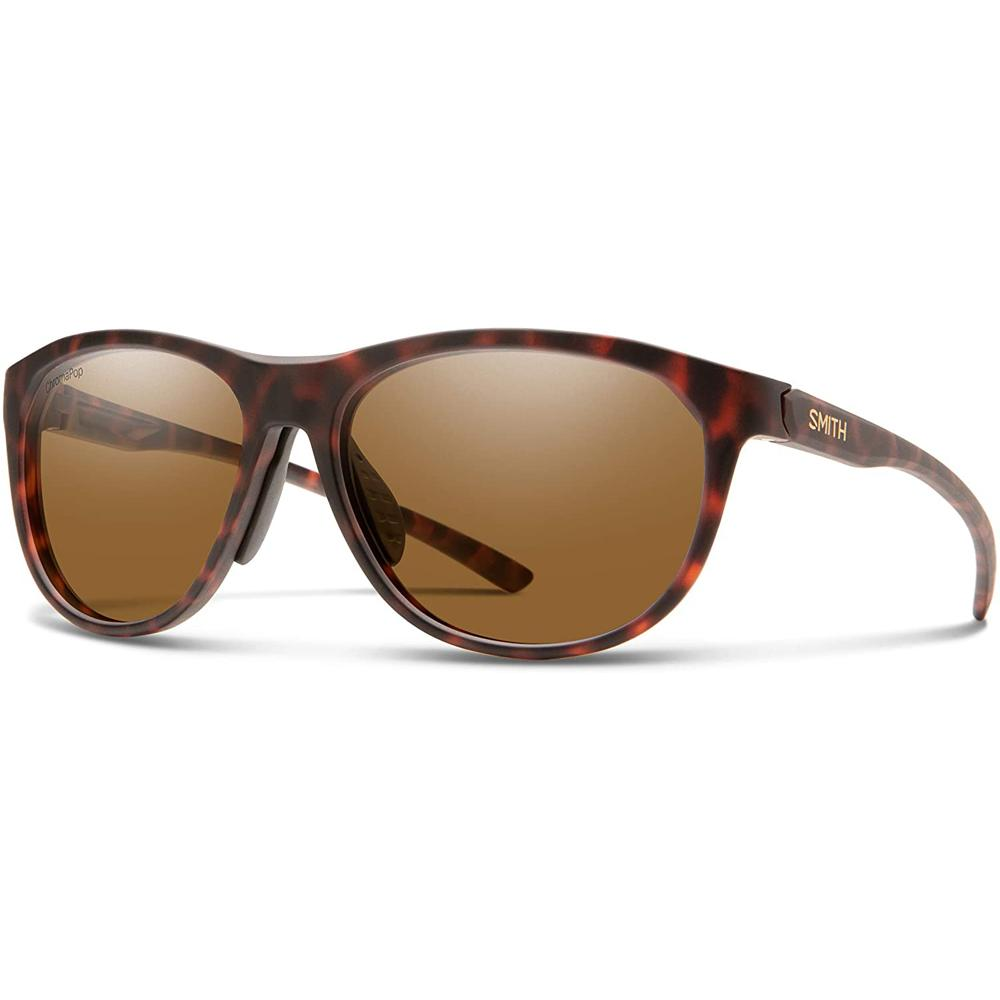 Smith Womens Uproar Matte Tortoise Frame Brown Polarized Lens Sunglasses - 202560N9P56L5