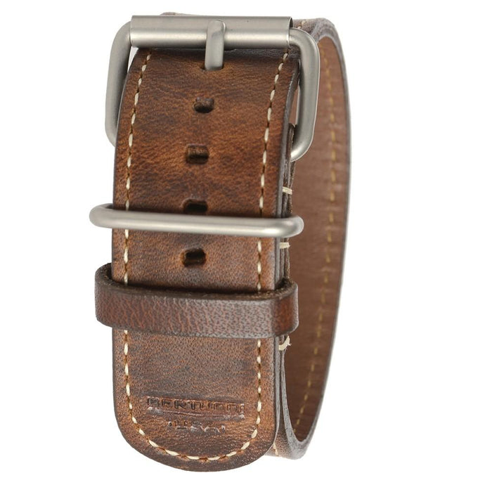 Bertucci Horween Unisex NutBrown Leather 26mm Watch Band - B-206H   - WatchCo.com
