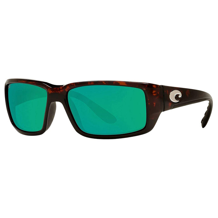 Costa Del Mar Mens Fantail Tortoise Frame Copper Green Mirror Polarized 580p Lens Sunglasses - TF10OGMP