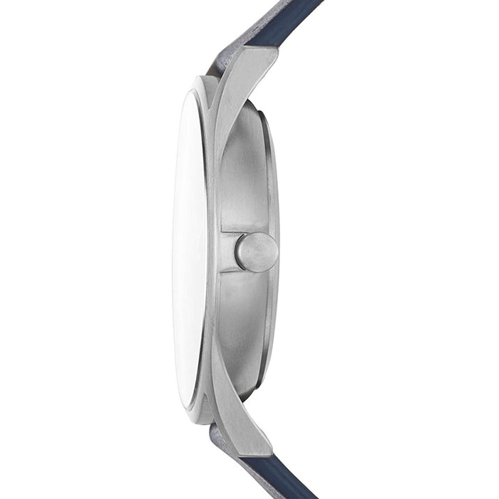 Skagen Mens Holst Gray Dial Blue Band Casual Quartz Watch - SKW6448