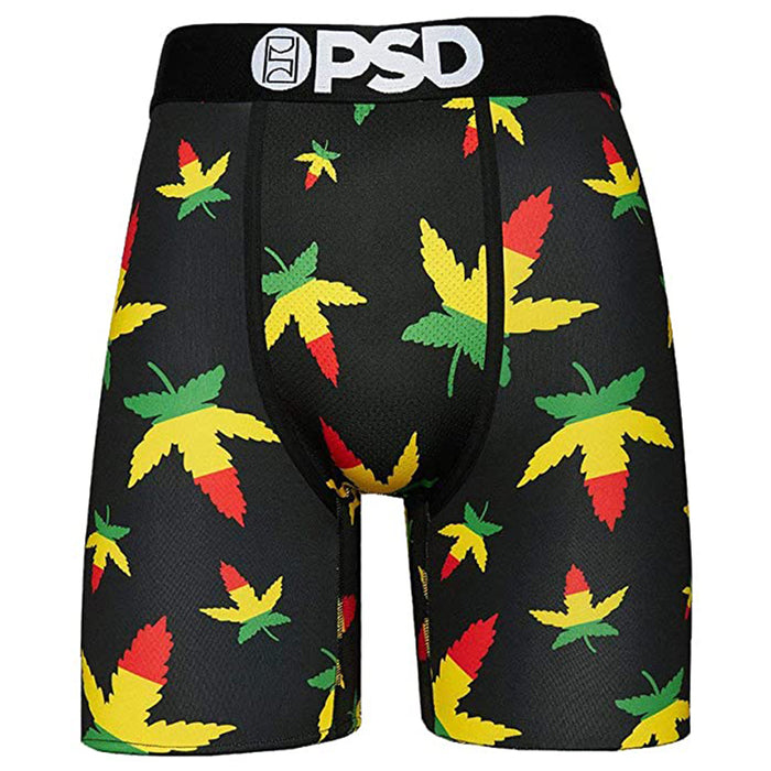 PSD Mens Weed Rasta Og Boxer Brief Underwear - 32011011-MUL-XL