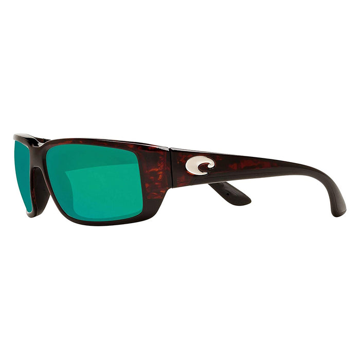 Costa Del Mar Mens Fantail Tortoise Frame Copper Green Mirror Polarized 580g Lens Sunglasses - TF10OGMGLP