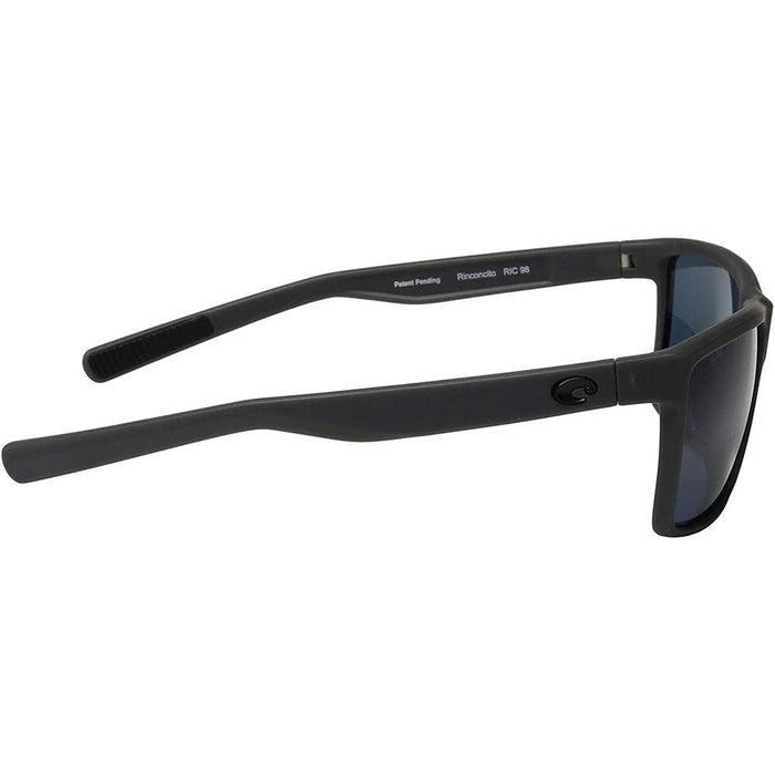 Costa Del Mar Mens Rinconcito Matte Gray Frame Gray Polarized Sunglasses - RIC98OGP - WatchCo.com