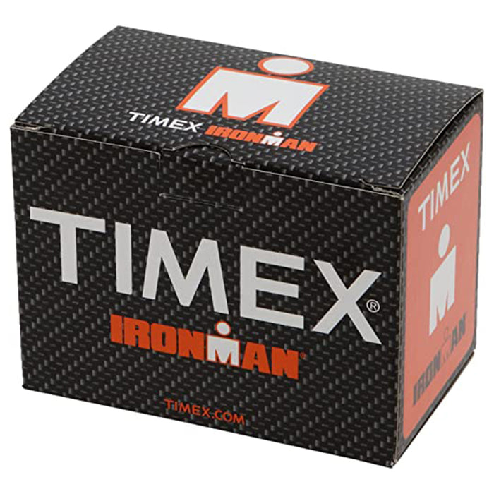 Timex Unisex Ironman Essential Black Rubber Band Digital Display Watch - TW5K900