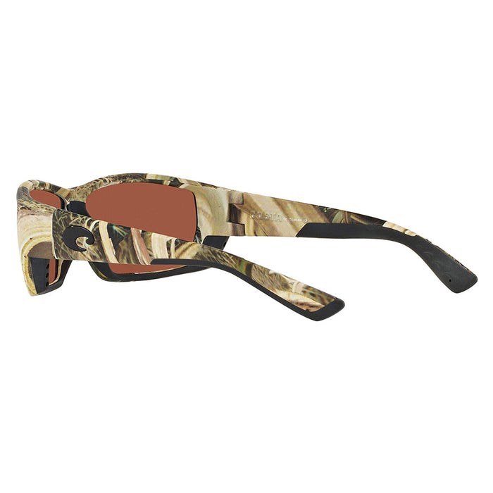 Costa Del Mar Mens Tuna Alley Mossy Oak Shadow Grass Frame Copper Green Mirror Polarized 580g Lens Sunglasses - TA65OGMGLP
