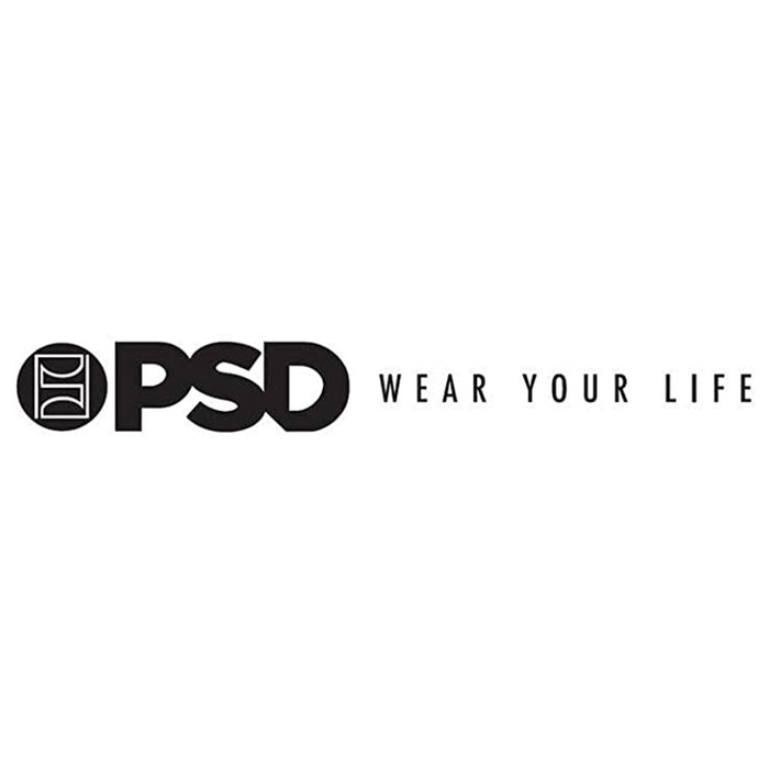 PSD Mens Black Boxer Brief Underwear - E11911039-BLK-L