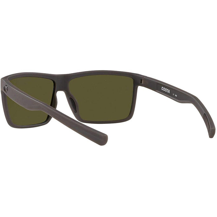 Costa Del Mar Mens Reefton Matte Grey Frame Blue Mirror Polarized Lens Sunglasses - RFT98OGP - WatchCo.com