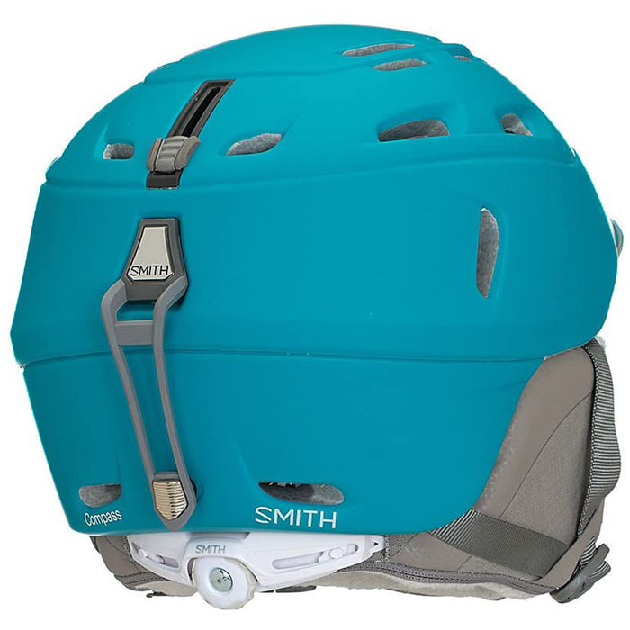 Smith Womens Matte Mineral Optics Compass Ski Snowmobile Helmet - H18-CPMISM