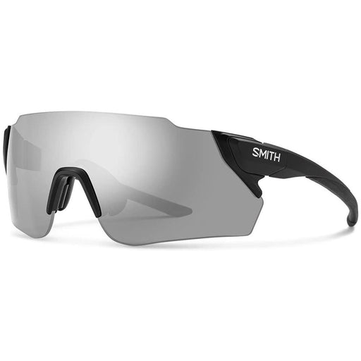 Smith Mens Attack MAG MAX Matte Black Frame Platinum Mirror Polarized Lens Sunglasses - ATMCMGYMMB - WatchCo.com
