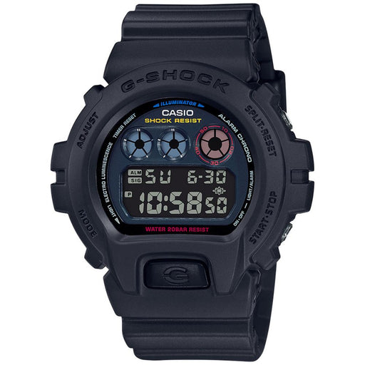 Casio Mens G-Shock Black Resin Strap Black Digital Dial Quartz Watch - DW6900BMC-1 - WatchCo.com