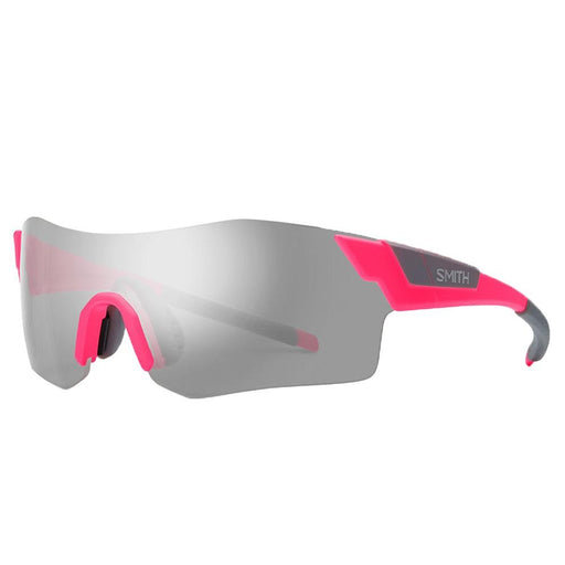 Unisex Shocking Pink Frame Platinum Lens Sports Sunglasses - ANCMGYMMSPK - WatchCo.com