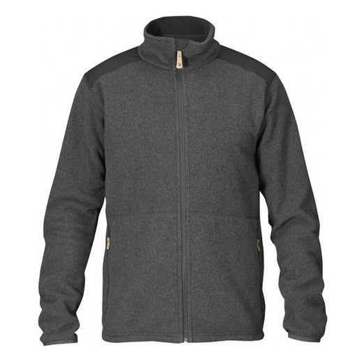 Fjallraven Mens Dark Grey Sten Fleece Sweater - F81765-030-M - WatchCo.com