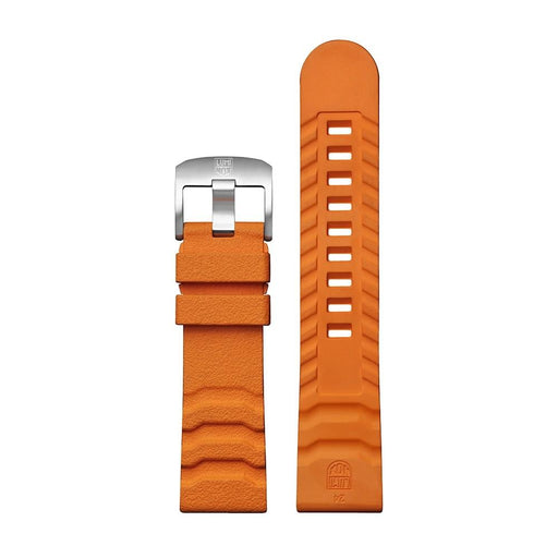 Luminox Men's 3740 Bear Grylls Master Series Orange Rubber Watch Band - FPX.3800.35Q.K - WatchCo.com