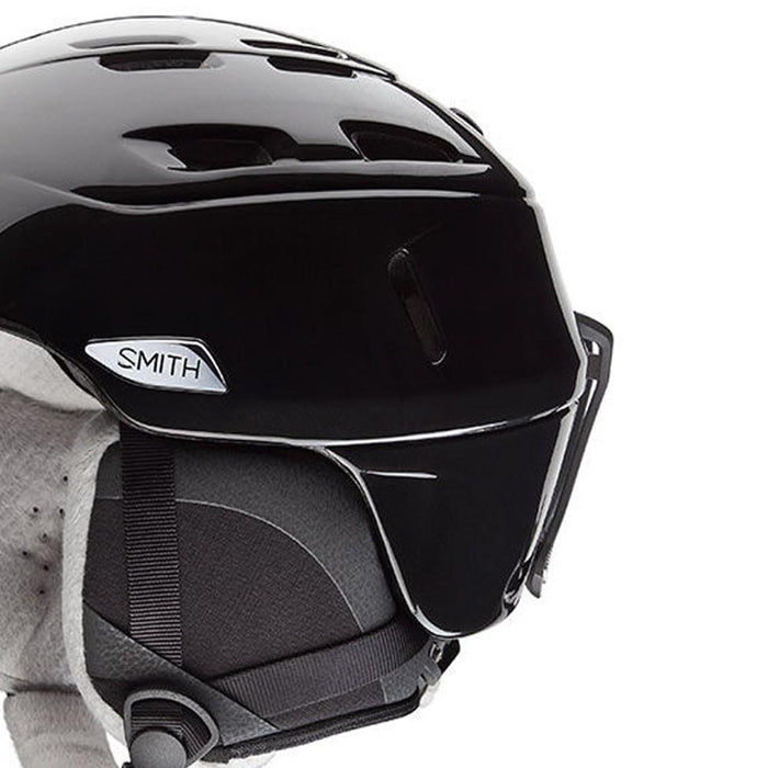 Smith Womens X-Static Black Pearl Small (51-55 cm) Ultra-light Helmets - H16-CPBKSM - WatchCo.com