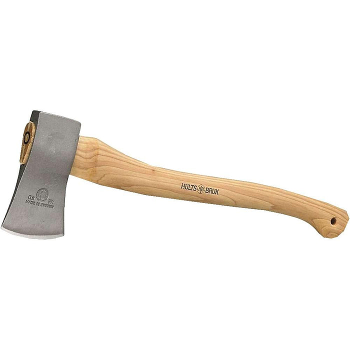 Hults Bruk Salen Hatchet Swedish 20 Inch Hickory Handle Axe - H840061 - WatchCo.com