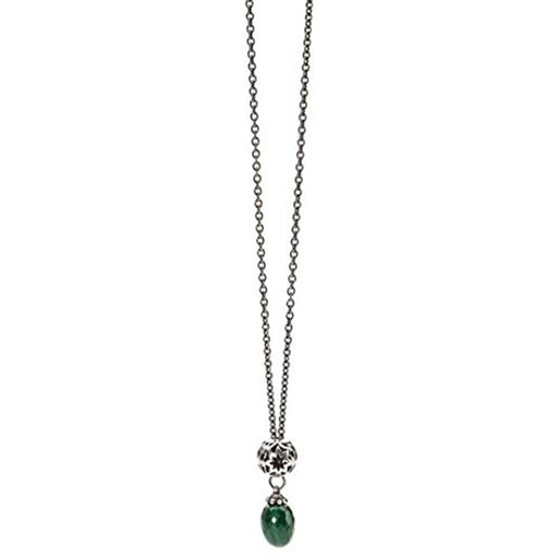 Trollbeads 925 Green Malachite Stone Sterling Silver Wishful Silver Necklace  80cm - TAGBO-00126 - WatchCo.com