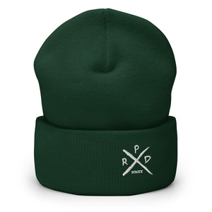 X Logo Embroidered Beanie - Punk Rock Dads