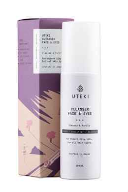 UTEKI Cleanser Face&Eyes, 100 ml - Beža Familia