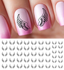 Angel Wings Nail Decals